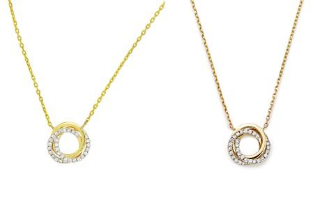 "Frederic Sage 18K Yellow Gold Mini Triple Halo Diamond Pendant Necklace, 16"" - Bloomingdale's_2"