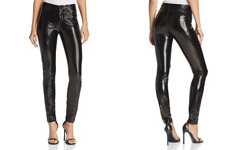 BLANKNYC Faux Patent Leather Pants - 100% Exclusive - Bloomingdale's_2
