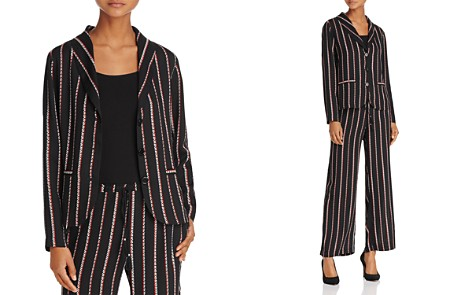 Beltaine Chevron-Stripe Crepe Jacket - 100% Exclusive - Bloomingdale's_2