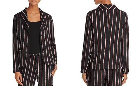 Beltaine Chevron-Stripe Crepe Jacket - 100% Exclusive - Bloomingdale's_2