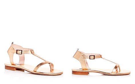 SJP by Sarah Jessica Parker Women's Veronika Leather T-Strap Sandals - Bloomingdale's_2