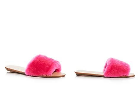 Loeffler Randall Women's Isabel Shearling Slide Sandals - Bloomingdale's_2