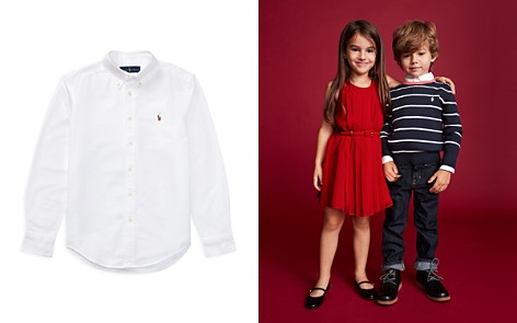 Polo Ralph Lauren Boys' Cotton Oxford - Big Kid - Bloomingdale's_2
