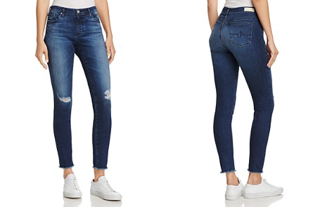 AG Ankle Denim Leggings in Indigo Shore - Bloomingdale's_2