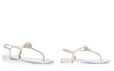 Giuseppe Zanotti Women's Nuvorock Swarovski Crystal Embellished Thong Sandals - Bloomingdale's_2