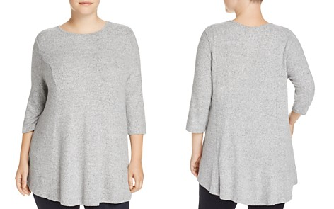 B Collection by Bobeau Curvy Brushed Knit Tunic - Bloomingdale's_2