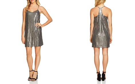 CeCe by Cynthia Steffe Mia Striped Sequin Dress - Bloomingdale's_2