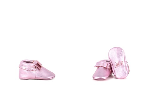 Freshly Picked Girls' Metallic Bow Moccasins - Baby - Bloomingdale's_2