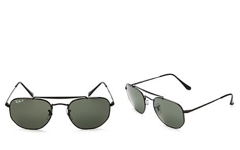 Ray-Ban Marshal Polarized Hexagonal Sunglasses, 54mm - Bloomingdale's_2