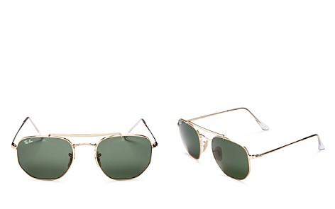 Ray-Ban Marshal Brow Bar Square Sunglasses, 54mm - Bloomingdale's_2