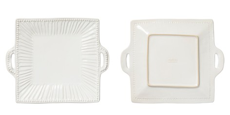 Vietri Incanto Stone White Stripe Square Handled Platter - Bloomingdale's_2