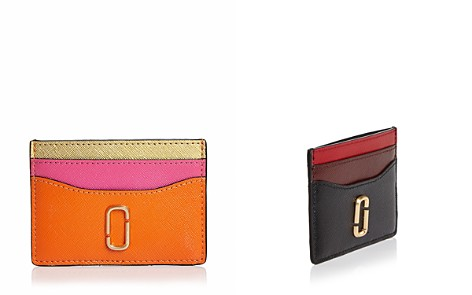 MARC JACOBS Snapshot Color-Block Leather Card Case - Bloomingdale's_2