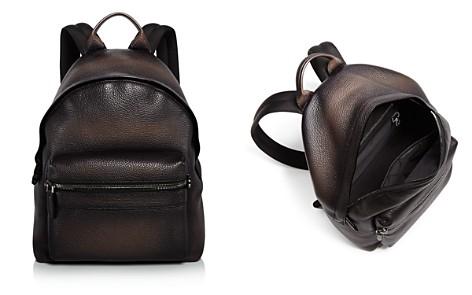 Salvatore Ferragamo Firenze Glow Pebbled Leather Backpack - Bloomingdale's_2