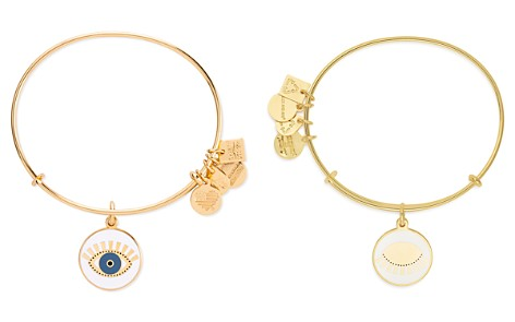 Alex and Ani Meditating Eye Expandable Wire Bangle - Bloomingdale's_2