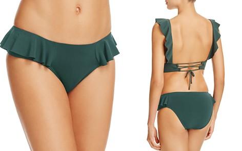 Robin Piccone Lina Ruffled Bikini Bottom - Bloomingdale's_2