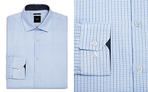 WRK Small Grid Slim Fit Dress Shirt - Bloomingdale's_2