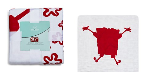 Aden and Anais x Spongebob (RED) Infant Special Edition Muslin Dream Blanket - Bloomingdale's_2