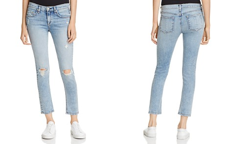 rag & bone/JEAN Ankle Skinny Jeans in Double - Bloomingdale's_2