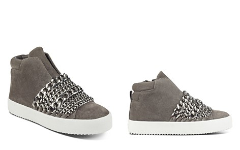 KENDALL and KYLIE Women's Duke Suede & Chain Trim Sneakers - Bloomingdale's_2