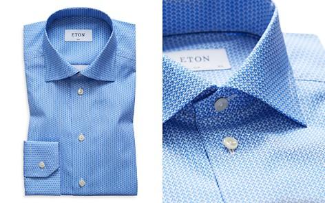 Eton Micro Geometric Slim Fit Dress Shirt - Bloomingdale's_2