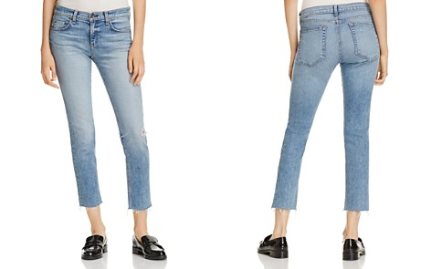 rag & bone/JEAN Ankle Dre Straight Jeans in Alphaville - Bloomingdale's_2