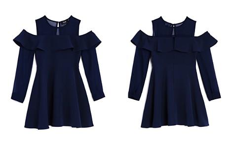 Bardot Junior Girls' Ruffled Cold-Shoulder Dress - Big Kid - Bloomingdale's_2