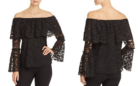 Cupio Lace Off-the-Shoulder Top - Bloomingdale's_2
