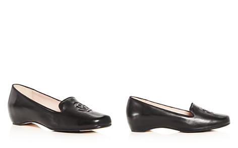 Taryn Rose Women's Belissa Leather Hidden Wedge Loafers - Bloomingdale's_2