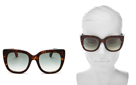 Gucci Oversized Square Sunglasses, 51mm - Bloomingdale's_2