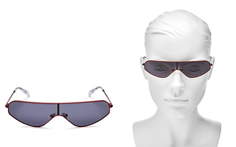 KENDALL and KYLIE Surfer Shield Sunglasses, 63mm - Bloomingdale's_2