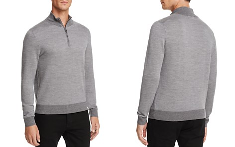 Brooks Brothers Birdseye Half-Zip Sweater - Bloomingdale's_2