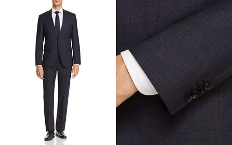 BOSS Johnstons/Lenon Regular Fit Windowpane Suit - 100% Exclusive - Bloomingdale's_2
