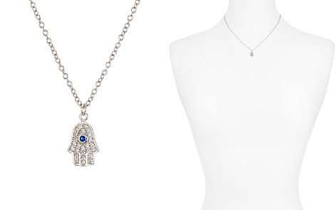 """AQUA Sterling Silver Pendant Necklace, 15"""" - 100% Exclusive - Bloomingdale's_2"""