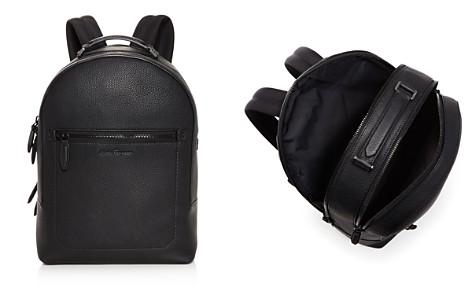 Salvatore Ferragamo Firenze Pebbled Leather Backpack - Bloomingdale's_2