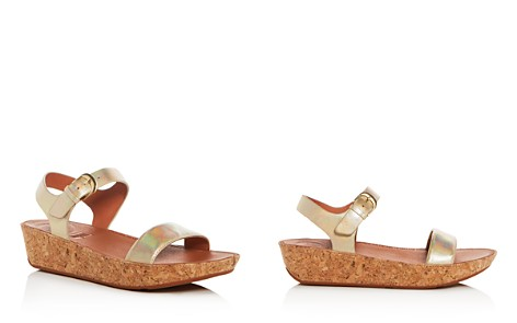 FitFlop Women's Bon II Leather & Cork Platform Sandals - Bloomingdale's_2