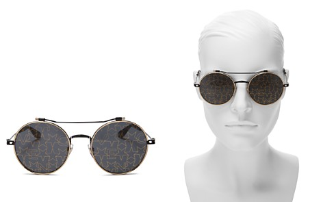 Givenchy Mirrored Round Sunglasses, 53mm - Bloomingdale's_2