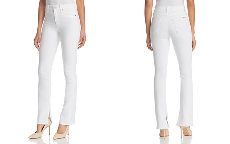 Hudson Heartbreaker High-Rise Bootcut Jeans in Optical White - Bloomingdale's_2