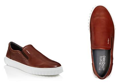Salvatore Ferragamo Men's Crew 2 Leather Sneakers - Bloomingdale's_2