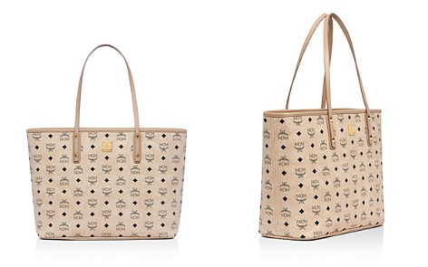 MCM Anya Logo Print Medium Shopper Tote - Bloomingdale's_2