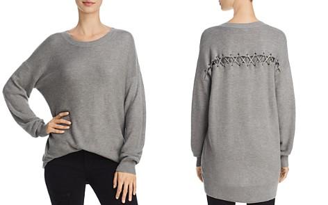Splendid Bleeker Lace-Up Back Sweater - Bloomingdale's_2