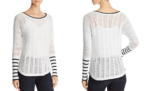 Heather B Boatneck Open-Weave Sweater - Bloomingdale's_2