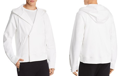 Helmut Lang Overlap Zip Hooded Sweatshirt - Bloomingdale's_2