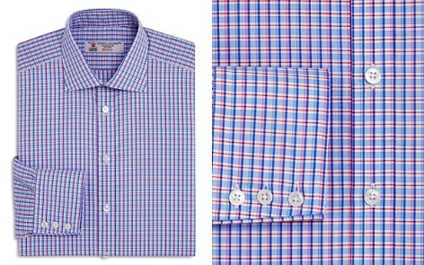 Turnbull & Asser Double Grid Regualr Fit Dress Shirt - Bloomingdale's_2