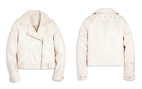 AQUA Girls' Studded Faux-Leather Moto Jacket, Big Kid - 100% Exclusive - Bloomingdale's_2