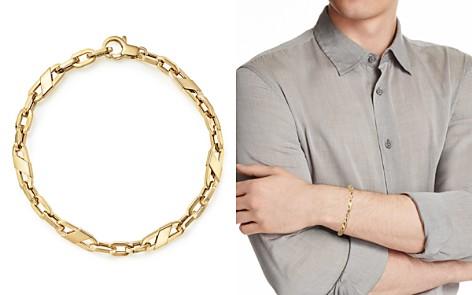Bloomingdale's Men's Oval Link Bracelet in 14K Yellow Gold - 100% Exclusive_2