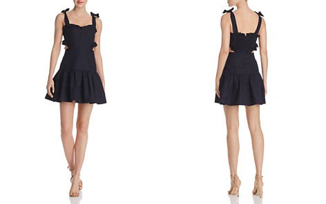 Rebecca Taylor Crisp Cutout Dress - Bloomingdale's_2
