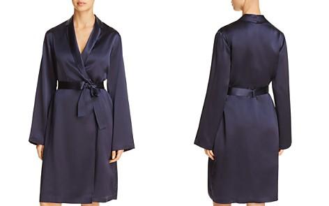 La Perla Silk Short Robe - Bloomingdale's_2