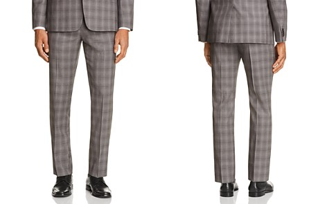 Theory Marlo Tonal Check Plaid Slim Fit Suit Pants - Bloomingdale's_2