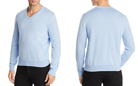 Brooks Brothers V-Neck Sweater - Bloomingdale's_2