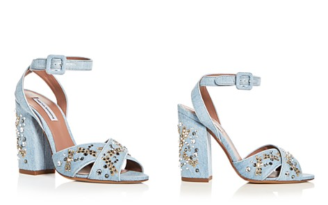 Tabitha Simmons Women's Connie Flyspark Embellished Denim Strappy Sandals - Bloomingdale's_2